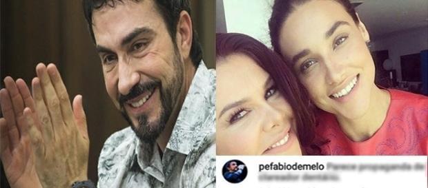 Fernanda Lima recebe comentário do padre Fábio de Melo. (reprodução Instagram)