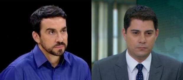 Pe. Fábio de Melo deu uma 'bronca' em Evaristo Costa (Foto: Reprodução)