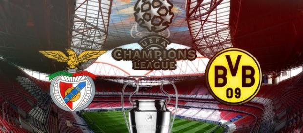 Benfica VS Borussia Dortmund realiza-se nesta terça-feira