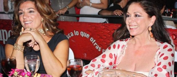 Raquel Bollo e Isabel Pantoja se reconcilian en la boda de Kiko ... - bekia.es
