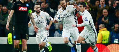 Benzema sigue siendo un goleador para el Madrid en Champions. fourtwofourtwo.com