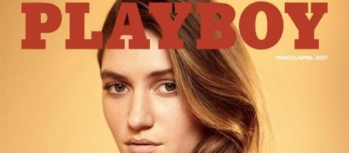Cover to the March-April issue of 'Playboy', with nudity returning / Photo from 'ABS-CBN News' - abs-cbn.com