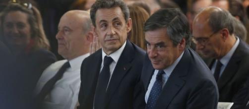 Francois Fillon et Nicolas Sarkozy