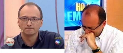 Houve censura da parte da Record TV com Britto Júnior