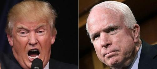 John McCain condemns Donald Trump over row with Khan family - BBC News - bbc.com