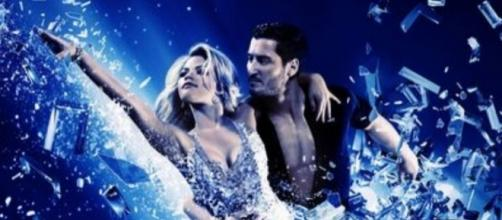 Witney Carson and Val Chmerkovskiy are featured in the offical 'DWTS' promo [Image via ABC]