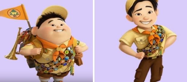 Como seriam os personagens de desenhos animados se fossem mais velhos? Reprodução: Youtube.
