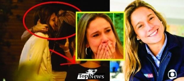 Fernanda Gentil é vítima de homofobia e reage.