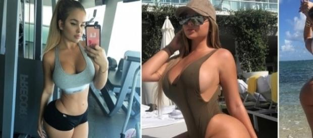 Modelo com corpo escultural é chamada de gorda na internet por haters.