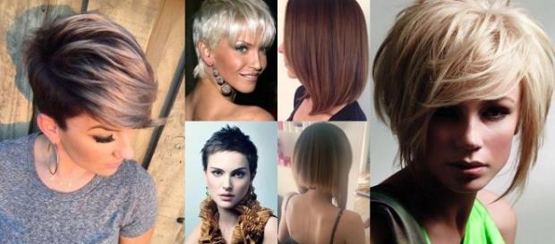 Tagli di capelli con shatush