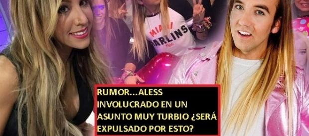 Os traemos el rumor que corre por las redes que deja muy mal la imagen de Aless Gibaja