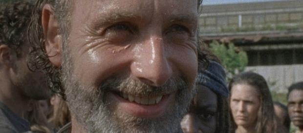 Sorriso de Rick no 9º episódio da 7ª temporada deixa público intrigado.