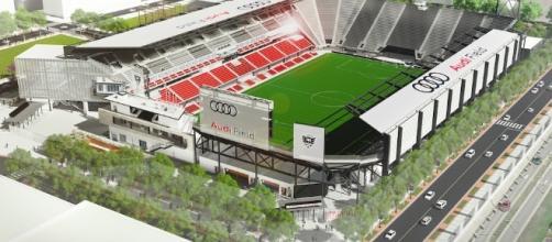 Audi Field di Washington, il nuovo stadio del DC United