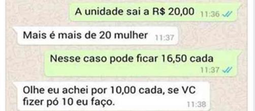 Cliente pede desconto ao vendedor e toma resposta inacreditável. (foto: reprodução TV Globo)