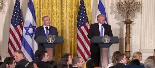 Donald Trump press conference, via Facebook