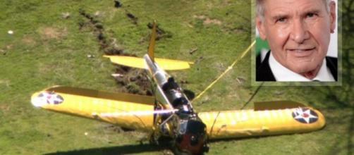 Harrison Ford vittima di un incidente in volo, illeso