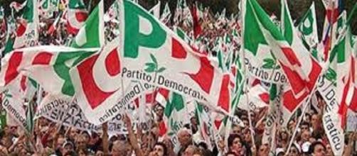 Manifestazione del Partito Democratico