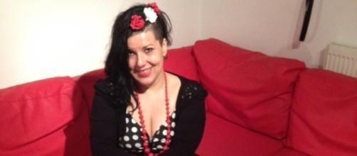 Mirjana Marjanovic in Black and White Polka Dot Top (Image credit: Mirjana Marjanovic)