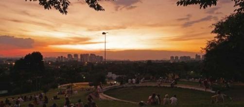 Praça do Pôr-do-Sol (Foto: depoisdosquinze)