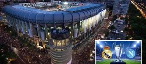 Real Madrid-Napoli, tifosi azzurri all'arrembaggio del Santiago Bernabeu