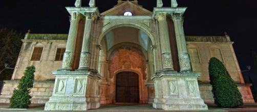 Santuario de la Misericordia (Reus), desde donde se vio el supuesto ovni.