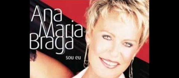 CD de Ana Maria Braga tinha participação de Louro José. Reprodução: Youtube.