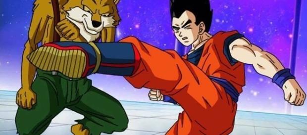 Dragon Ball Super capítulo 80, Gohan versus Lavenda