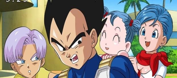 Dragon Ball Super El nacimiento de Bura (Bra)