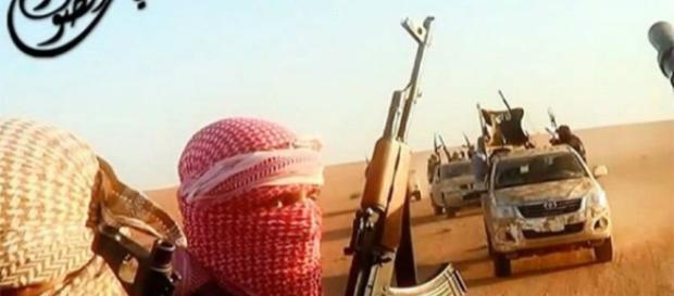 Imagens dos aliados do Estado Islâmico