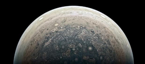 Jupiter's South Pole As Viewed By Juno - SpaceRef - spaceref.com