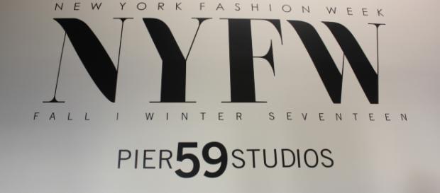 New York Fashion Week Pier 59 Studios logo. -Holly Wang