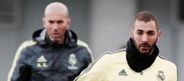 Real Madrid: Zidane évoque le cas Benzema