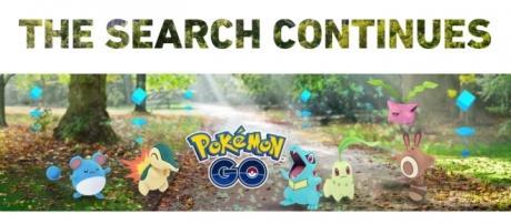 Iniciales de la segunda generación Pokémon