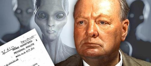 Churchill credeva nell'esistenza di Ufo