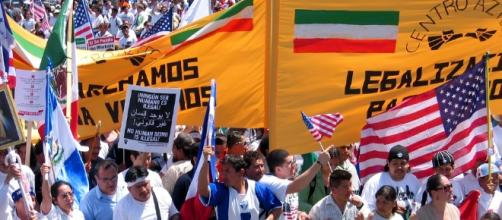 Day without an immigrant march Photo credit: Kumasawa