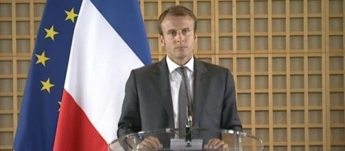 Emmanuel Macron, candidat à l'élection présidentielle - CC BY