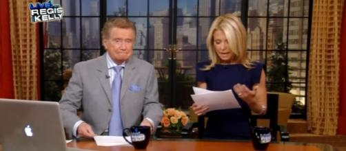 Kelly Ripa and Regis Philbin-Image by The Insider/YouTube