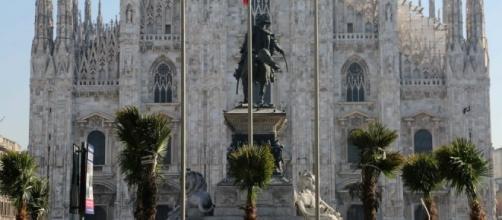 Milano: arrivano palme e banani in piazza Duomo