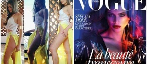 Modelo trans é capa de revista