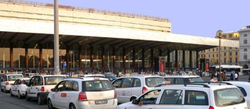 Protesta dei taxi (Foto: plan.pl)