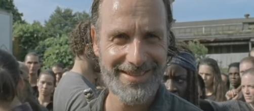 Why was Rick Grimes smiling in 'The Walking Dead'? - Image via TWD Guru/Photo Screencap via AMC/YouTube.com