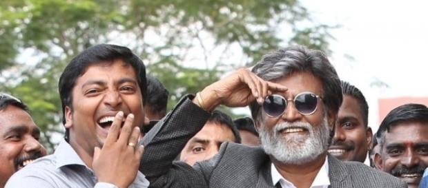 A working still form 'Kabali' (Image credits: Twitter.com/kalaiactor)