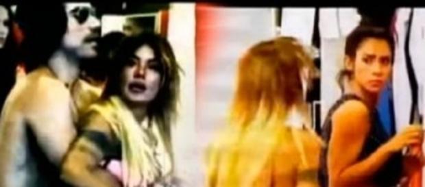 Angie intenta agredir a Ámbar por el amor de Felipe
