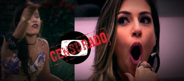 Emilly perde a cabeça com Vivian e choca até a Globo
