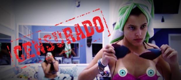 Emilly tira tudo no BBB e vídeo mostra o que a Globo não deixa