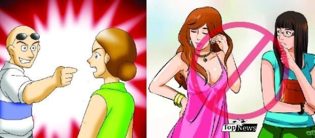 Hábitos irritantes que as mulheres fazem
