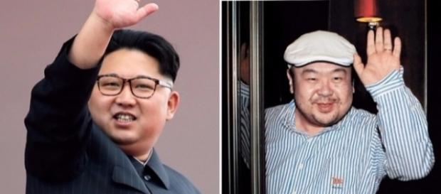 În stânga, Kim Jong-un, iar în dreapta, fratele său, Kim Jong-nam. (Sursa foto: ITV.com)