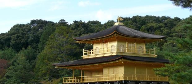 Kinkakuji, o templo coberto de ouro