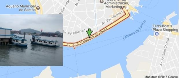 Após o assalto, os ladrões fugiram de barco