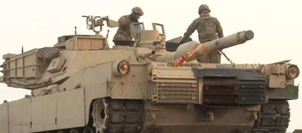 Tancurile americane au sosit în România - Foto: Twitter - Warfare Worldwide